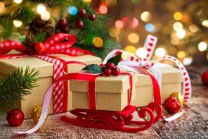 Новогодние подарки от друзей