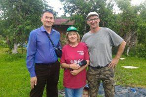 Татьяна Федяева побеседовала с Йоргом Дуссом о трудоустройстве бездомных людей на его ферму в Тарусе